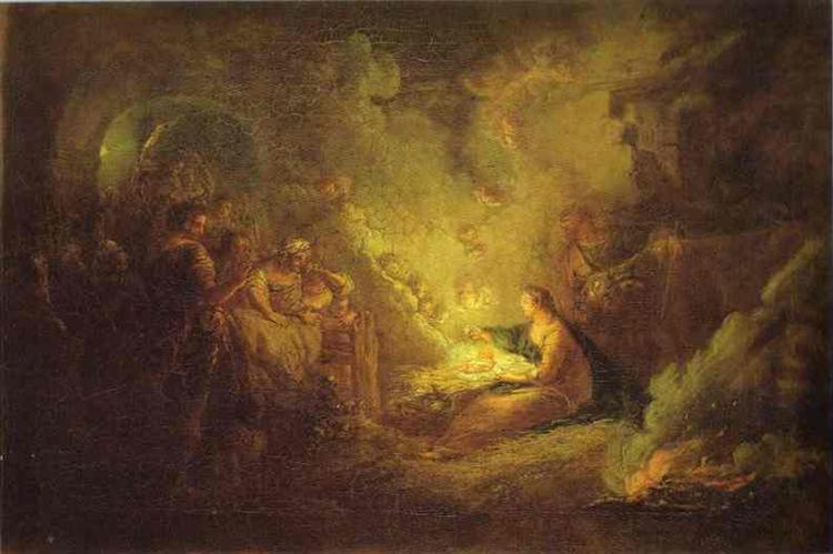 Birth of Christ, 1745 - Antoine Pesne