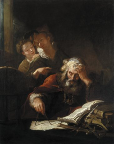 Geometrician, c.1710 - Antoine Pesne