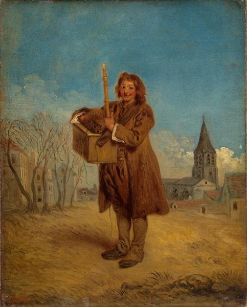 Savoyard with a marmot, 1715 - Antoine Watteau