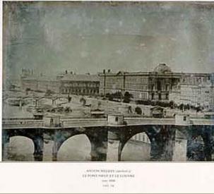 Le Pont Neuf (daguerreotype), 1848 - Anton Melbye