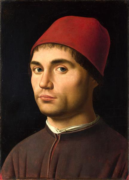 Portrait of a Man, 1473 - Antonello da Messina