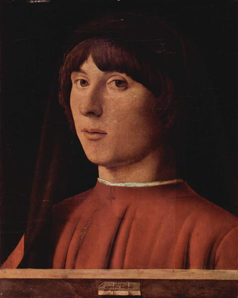 Portrait of a Man, 1474 - Antonello da Messina