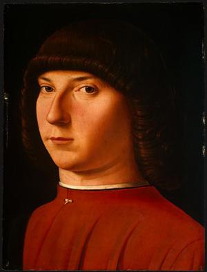 Portrait of a Young Man, c.1475 - Antonello da Messina