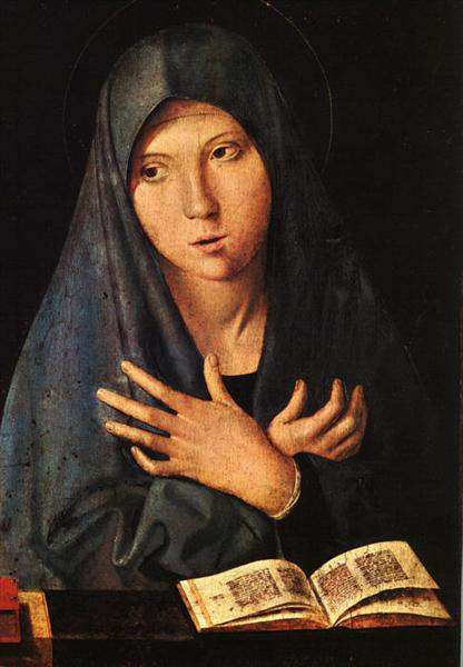 Virgin of the Annunciation, 1473 - 梅西那