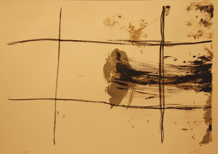 Carrés, 1967 - Antoni Tàpies