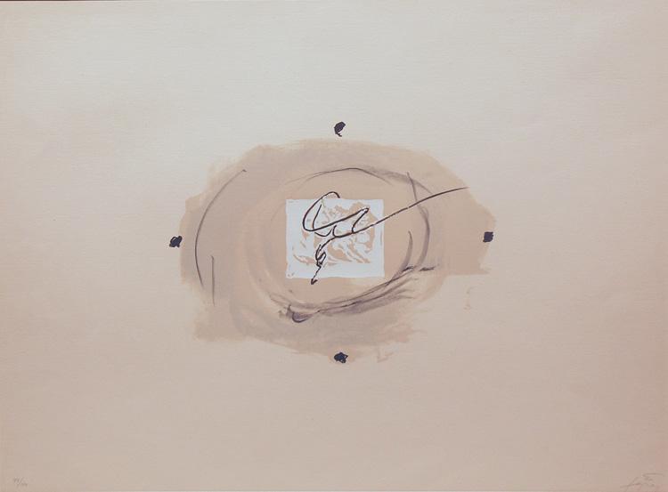 Nocturn Matinal, 1970 - Antoni Tàpies