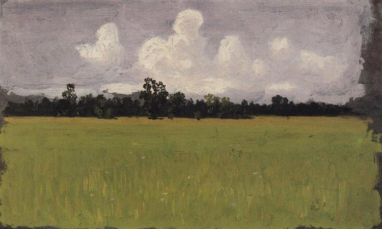 Осень. Степь, 1875 - Архип Куинджи