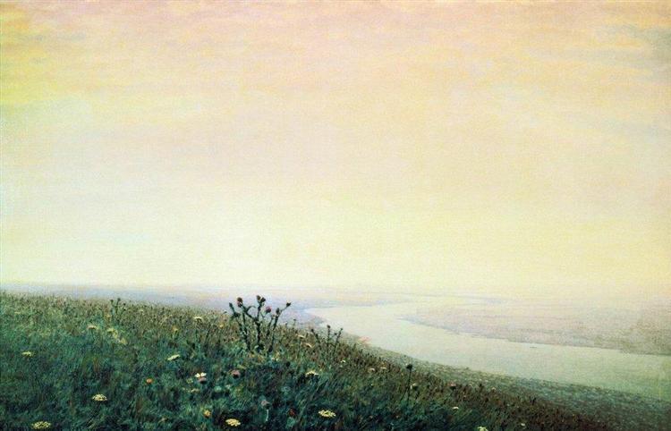 Dnieper in the morning, 1881 - Arkhip Kuindzhi