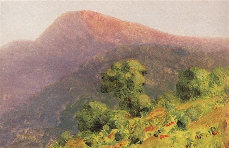 Mountains, c.1890 - Arkhip Kuindzhi