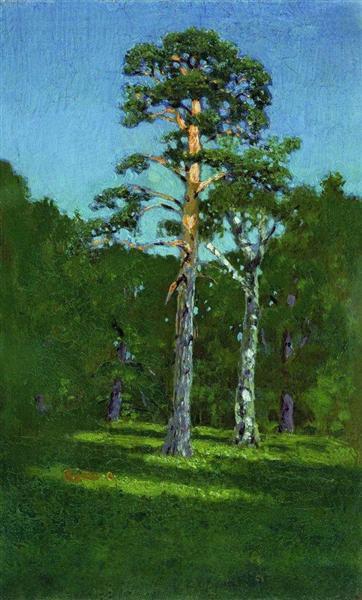 Pine, 1878 - Arkhip Kuindzhi