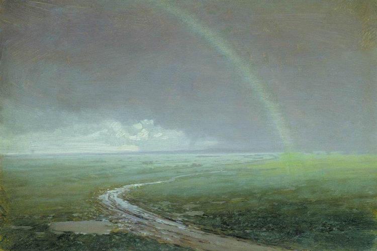 Rainbow, c.1900 - Arkhip Kuindzhi