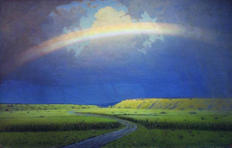 Rainbow, c.1905 - Arkhip Kuindzhi