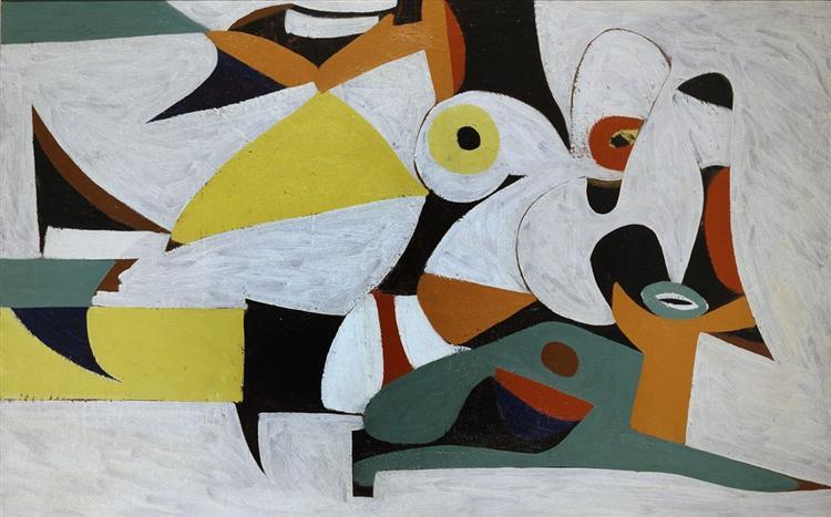Composition, c.1938 - c.1940 - Arshile Gorky