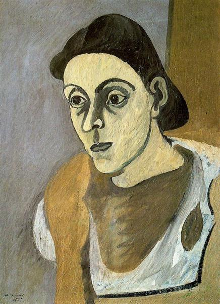 Portrait of Vartoost - Arshile Gorky