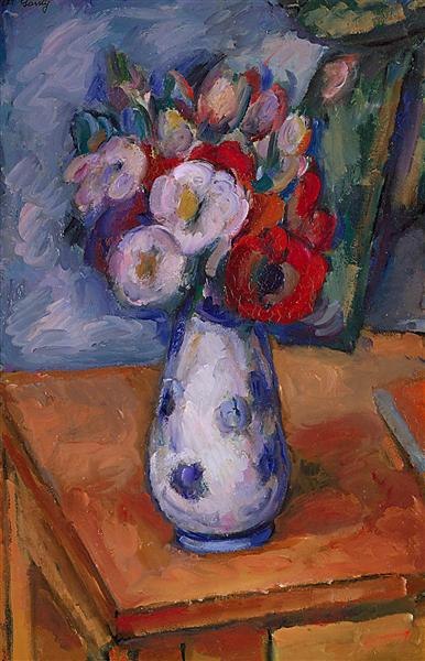 Still Life of Flower - Arshile Gorky