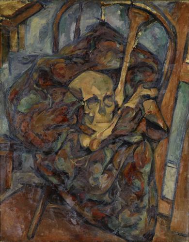 Still Life with Skull, c.1927 - Arshile Gorky
