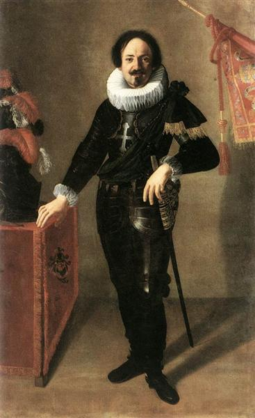 Portrait of a Condottiero - Artemisia Gentileschi