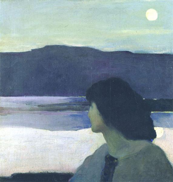 Silence - Arthur Beecher Carles