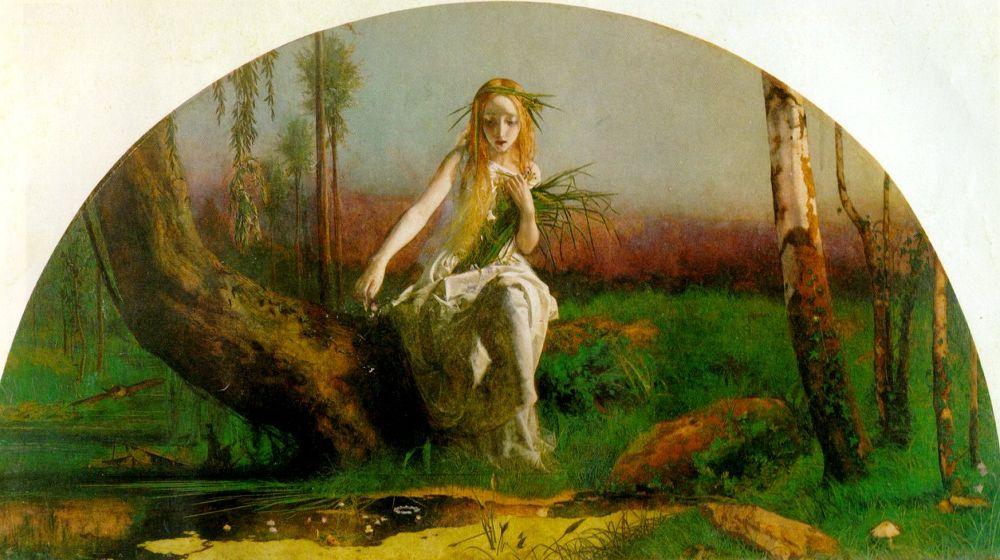 Ophelia Shakespeare: Arthur Hughes