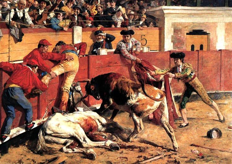 La Vara rota, 1892 - Артуро Міхелена