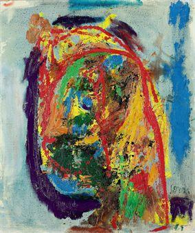 Oui, chérie, 1961 - Asger Jorn