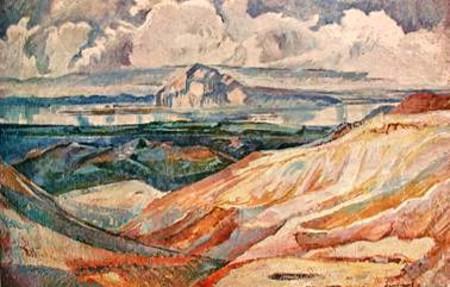 Scene from Mývatnssveit in North Iceland, 1953 - Асгримур Йонссон