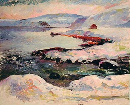 View of Elliðaárvogur, Reykjavík, 1930 - Асгримур Йонссон