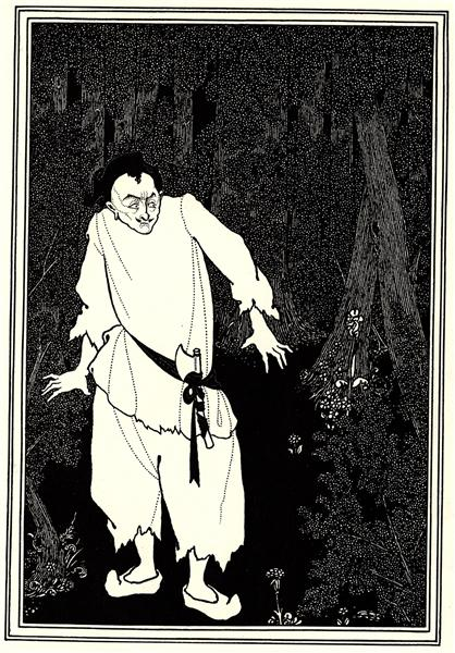 Ali Baba in the Woods, 1897 - Aubrey Beardsley