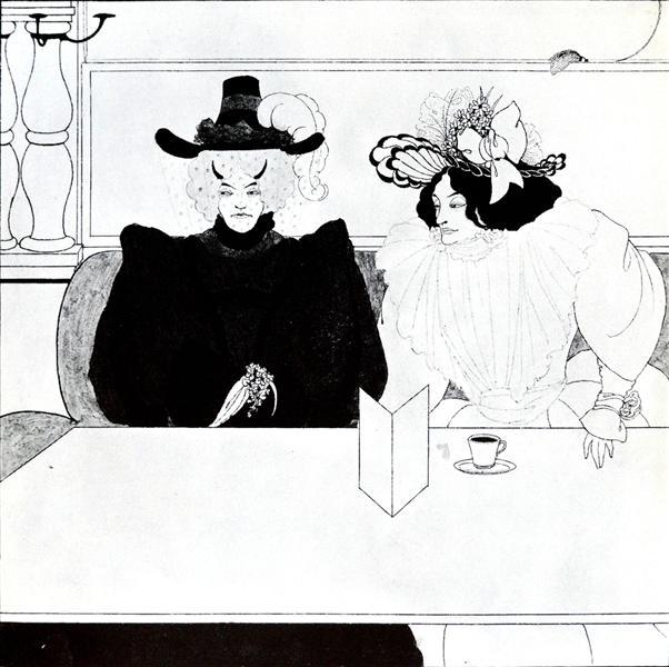 Black Coffee, 1895 - Aubrey Beardsley