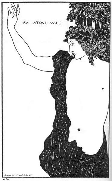 Hail and farewell, 1898 - Aubrey Beardsley