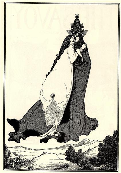 The Ascention of Saint Rose of Lima, 1896 - Aubrey Beardsley