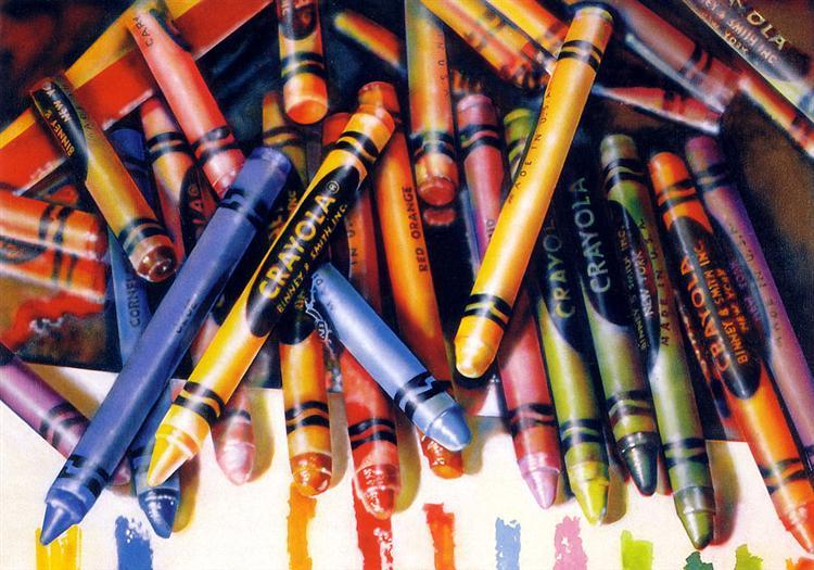 Crayola, 1973 - Audrey Flack