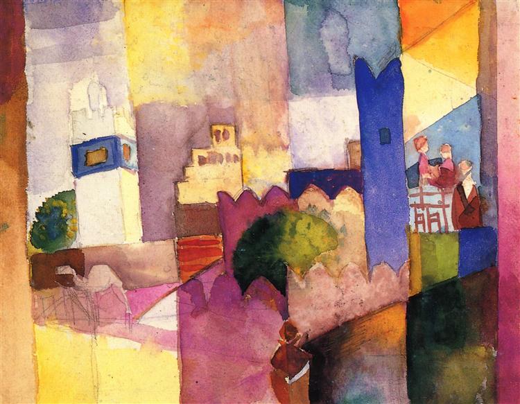 Kairouan (III) - Август Маке
