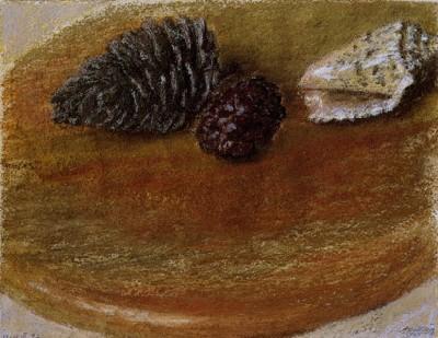 Shell and Cones, 1997 - Avigdor Arikha