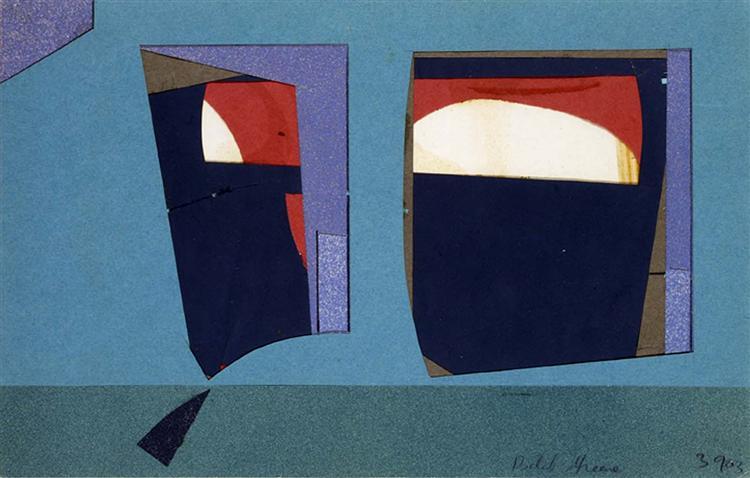 Untitled (39-03), 1939 - Balcomb Greene