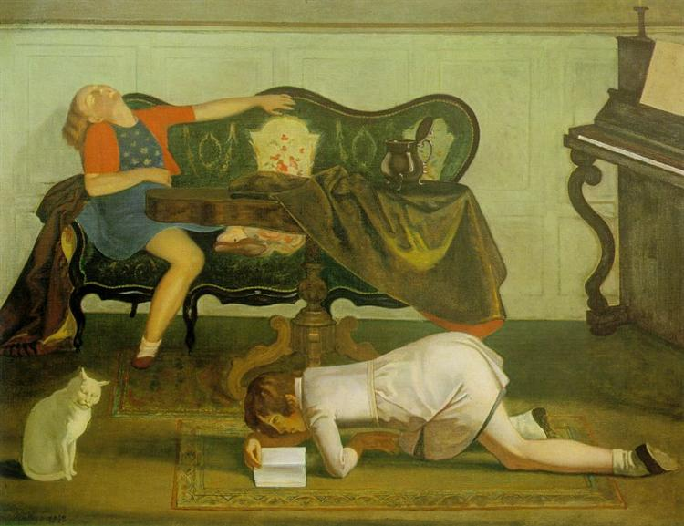 Drawing room, 1942 - Balthus
