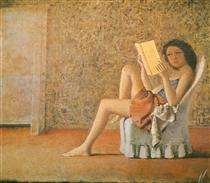 Katia reading - Бальтюс