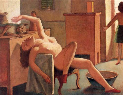 Nude with Cat - Balthus