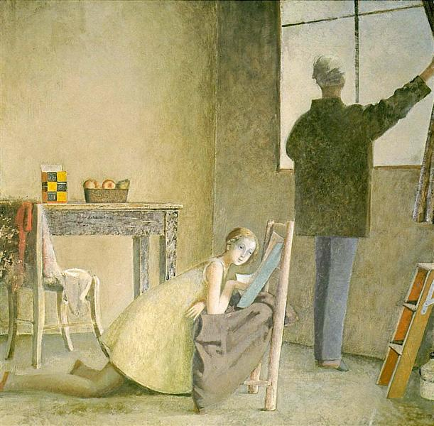 Painter and his Model, 1981 - Balthus