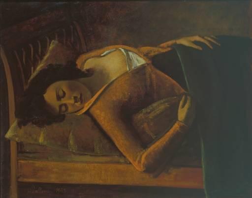 Sleeping Girl, 1943 - Balthus