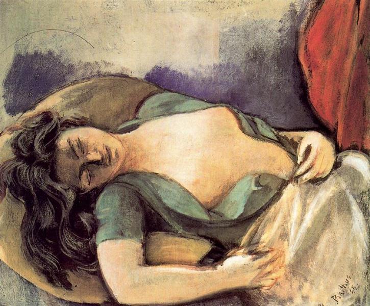 Study for the Dream I, 1935 - Balthus