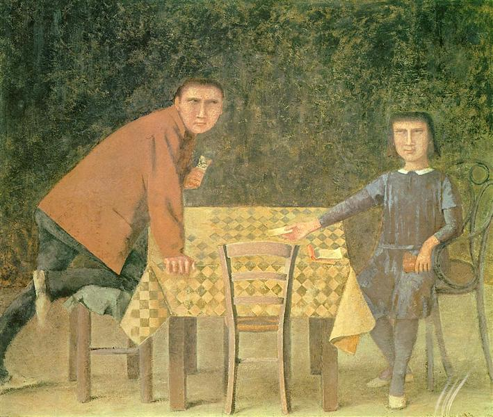 The cardgame, 1973 - Balthus
