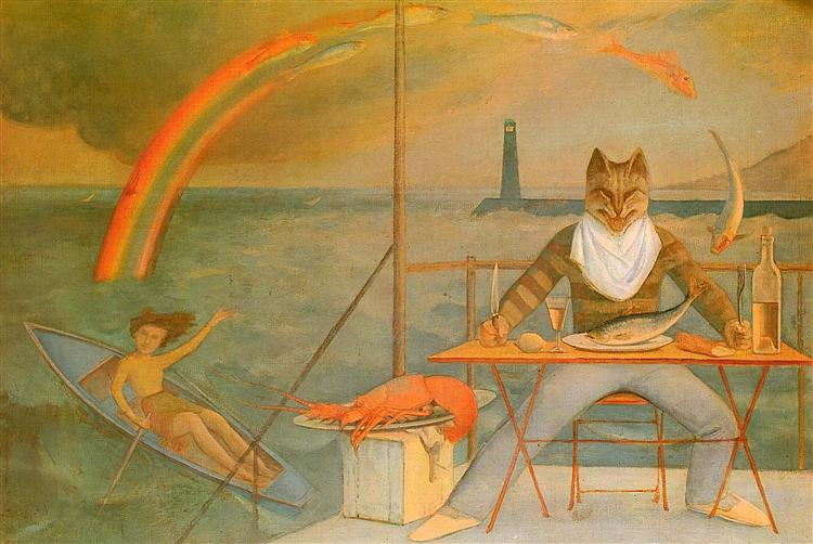 The Mediterranean Cat - Balthus