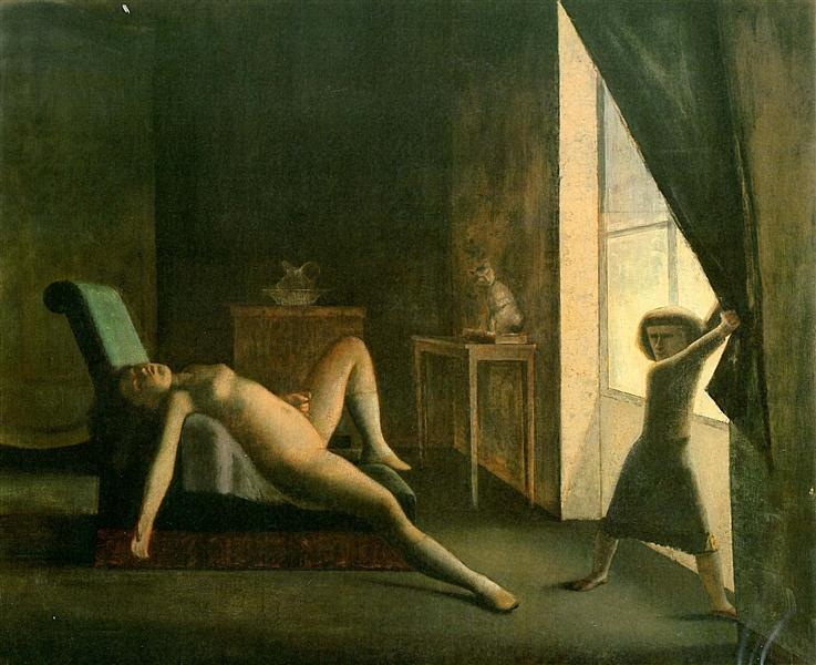 The Room, c.1953 - Balthus