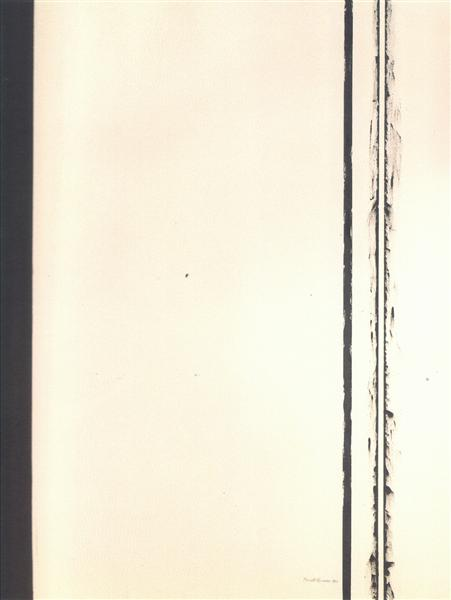 The Station of the Cross - Second Station, 1958 - Barnett Newman
