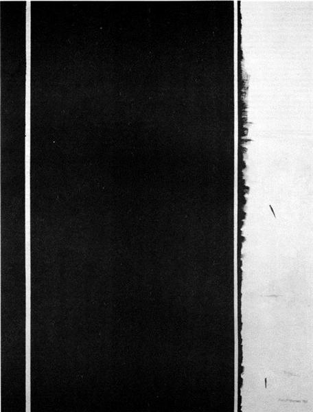 The Station of the Cross - Twelfh Station, 1965 - Barnett Newman