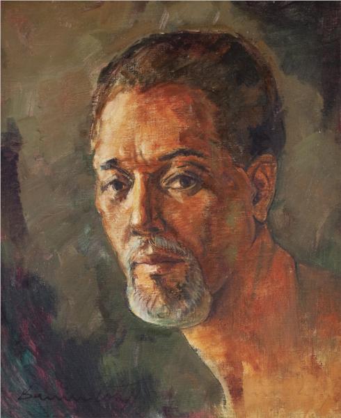 Portrait of AD Scott 1969 - Barrington Watson