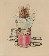 Frontispiece. The Tailor Mouse - Беатрис Поттер
