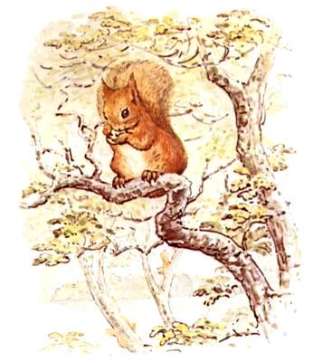 Squirrel Nutkin, 1903 - Beatrix Potter