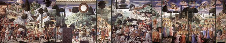 Procession of the Magi, 1459 - 1461 - Benozzo Gozzoli